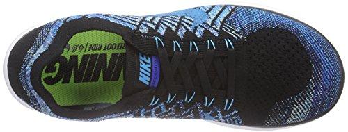 Nike Free 4.0 Flyknit -  para hombre Bleu (Black/Blue Lagoon-Game Royal 004)