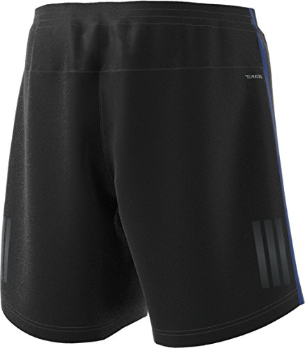 adidas Men's Running Response Shorts, Black/Collegiate Royal, X-Large/5''