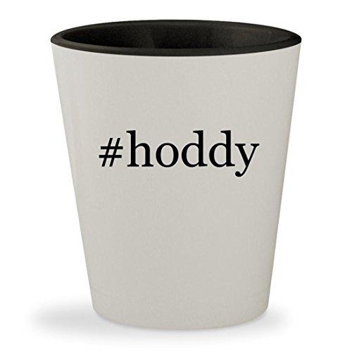 Price comparison product image #hoddy - Hashtag White Outer & Black Inner Ceramic 1.5oz Shot Glass