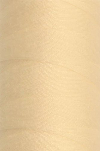 CREAM STRONG BONDED NYLON UPHOLSTERY LEATHER FURNITURE WORK SEWING THREAD 3000M 40'S I Want Fabric