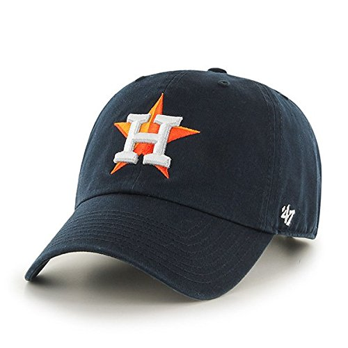 MLB Houston Astros '47 Brand Clean Up Adjustable Hat, One Size -