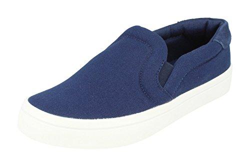 Blau adidas Courtvantage Originals on Slip Aq4434 Sneakers Weiß Sneakers Damen rr0qvwxB