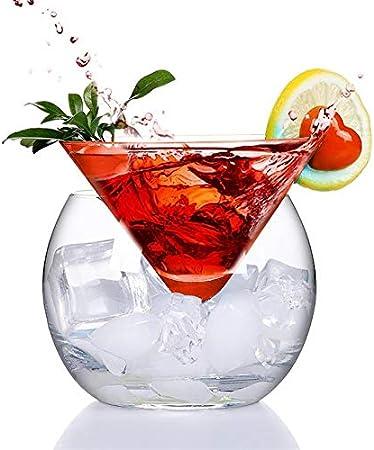 1. Estilo americano más reciente creatividad helado martini / vidrio de cóctel,2. Vidrio cónico con
