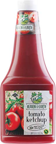 Heaven & Earth, No High Fructose Corn Syrup Ketchup, 28oz (2 Pack)