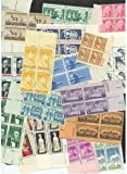 40 Old US Plate Blocks! All Mint! Only $10.95!