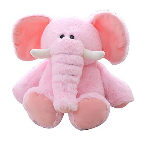 GUIIFAN Elephant 8 Inch Plush Toy,Plush Stuffed Animal Elephant,Pink