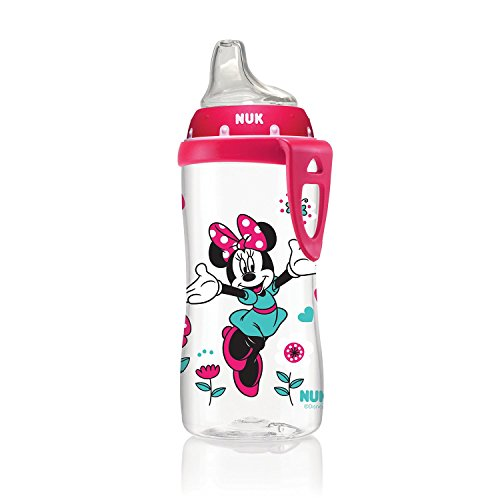 NUK Disney Minnie Mouse Active Cup, 10-Ounce (Classic Cap Classic Pooh)