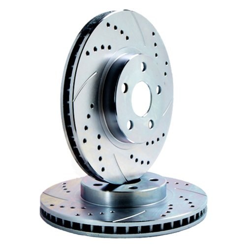 Fits 2001 BMW M3 [ E46 ] FRONT PAIR ATL Autosports Performance Brake Rotors ()