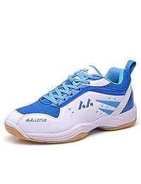 Ifrich Badminton Tennis Shoes Unisex Training Sneaker Volleyball Lightweight Court School Racquetball Running Shoe for Men Women