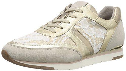 42 beige Mujer Gabor Zapatillas vanille platino Multicolor para SqISCfPw