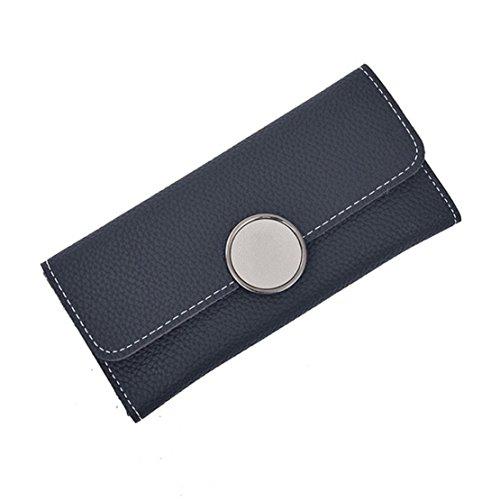 DORIC Womens Fashion Ring Long Wallets Coin Purse Card Holders Handbag