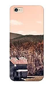 Trolleyscribe Perfect Tpu Case For Iphone 6 Plus/ Anti-scratch Protector Case (hilltop Abandoned House )