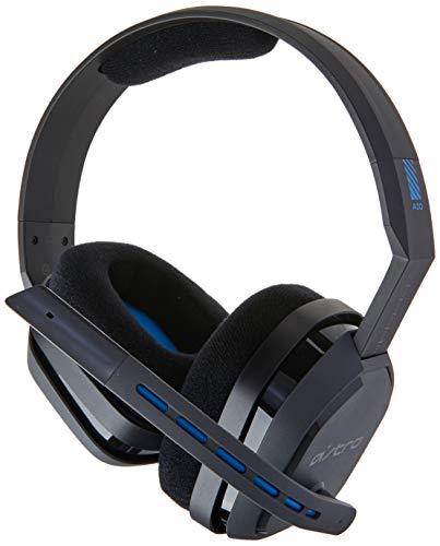 Astro A10 Headset Gamer Fone de Ouvido para Jogos Astro A10, Preto/Azul, Playstation 4