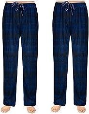 SOVA Men's 2-Pack Ultra Comfy Fit Micro Fleece Pajama Pants (2 pcs