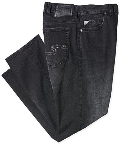 Silver Hombre para Jeans Vaqueros M22231 Black F Sbd447 Schwarz v7wvrqZxn