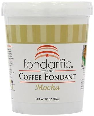 Fondarific Coffee Mocha Fondant, 2-Pounds