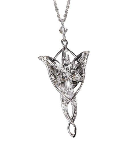 Arwen Evenstar Pendant-Sterling Silver - LOTR