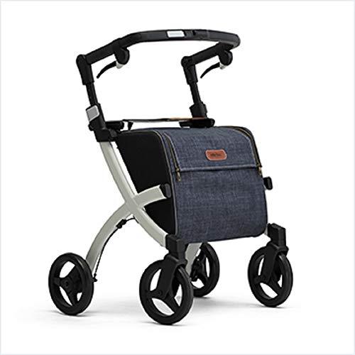 Triumph Mobility Rollz Flex - Shopper Rollator Mobility Walker, Standard: User Height: 5'1