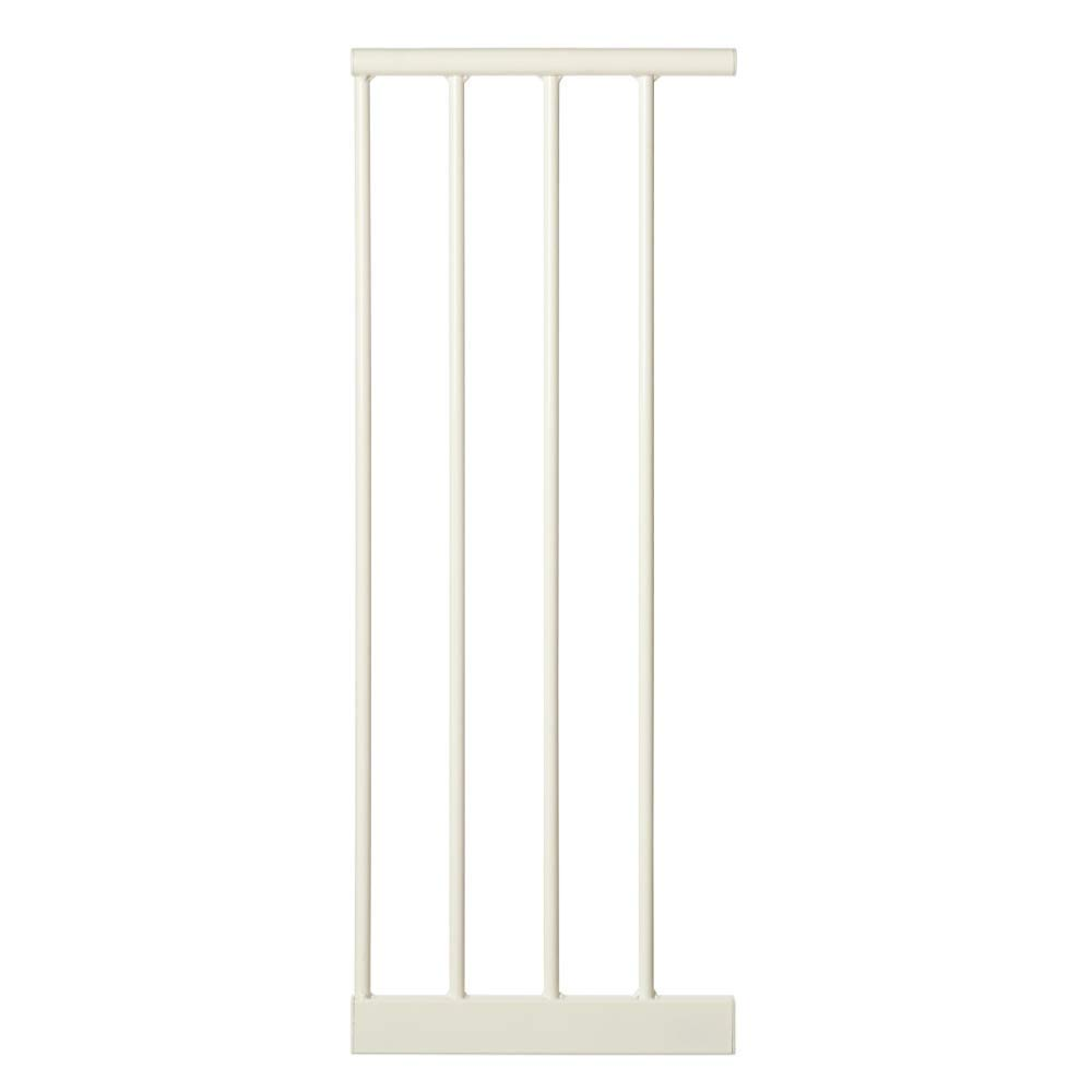 "Toddleroo by North States 4 Bar Extension for Easy Close Baby Gate: Adjust Your gate to fit Your Space. Add up to Three Extensions. No Tools Required. (Adds 10.5"" Width, White)"