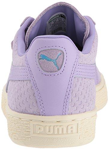 Chaussures whisper Classiques Perforati Femmes Daim Purple Pour En Rose Puma White z7xUFZdz