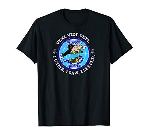(USS BUFFALO SSN-715 PATCH IMAGE T-Shirt)