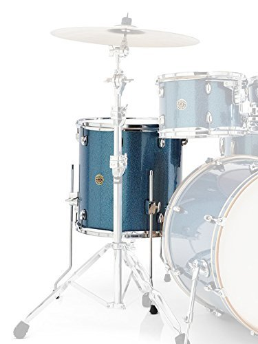 Gretsch Drums Catalina Maple CM1-1414F-AS Drum Set Floor Tom, Aqua Sparkle
