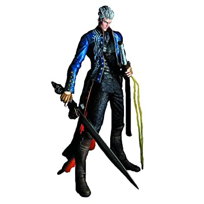 Square Enix Devil May Cry 3 Play Arts Kai Vergil Action Figure by Square Enix