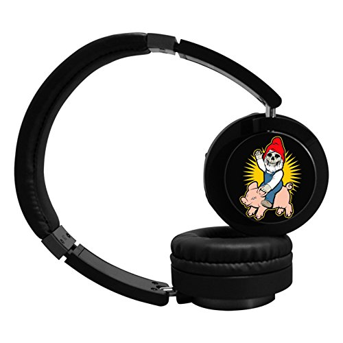 MagicQ New Skull Ride Pig Bluetooth Headphones,Hi-Fi Stereo Earphones Headset. (Dod Stereo)