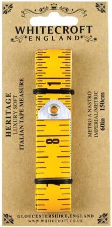 Whitecroft Heritage Soft Italian Tape Measure