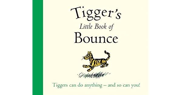 Amazon.com: Winnie-The-Pooh: Tiggers Little Book of Bounce ...