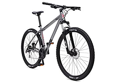 "SE Bikes Adult Big Mountain 1.0 Bike with 29"" Wheel - Gray/Red"
