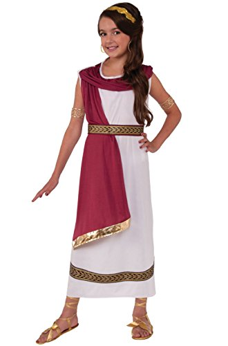 Greek Goddess Plus Size Costumes (Ruby Greek Goddess Child Costume (Large))