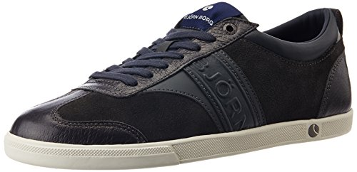 Björn Borg Men's X110 Low Sue M Leather Sneakers