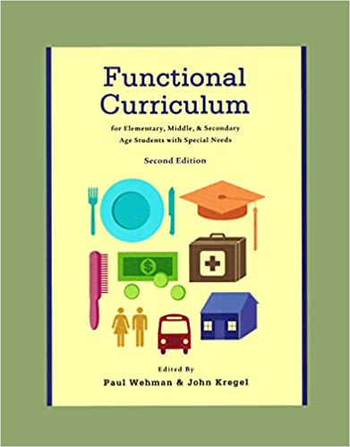 functional curriculum for elementary middle school high school autism special education