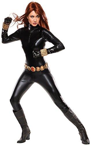 [Rubie's Costume Co Women's Marvel Universe Grand Heritage Black Widow Costume, Black, Small] (Comic Book Black Widow Costumes)