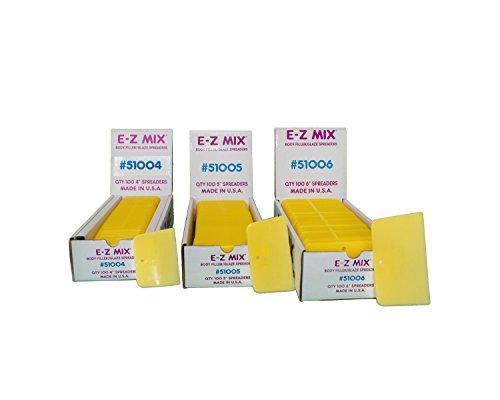 E-Z Mix 51006 6'' Body Filler/Glaze Spreader 100 Pack by E-Z Mix (Image #3)
