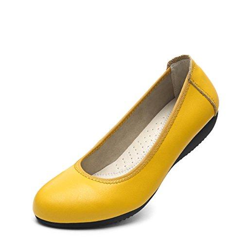 escoge los zapatos/ flat-bottom zapatos/Negro zapatos de las mujeres profesionales/ zapatos negros salvajes D