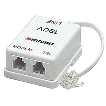 Intellinet Splitter für ADSL Modem weiß: Amazon.de: Computer & Zubehör