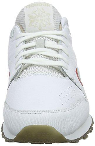 Reebok Cn0170, Scarpe da Ginnastica Uomo Bianco (Whitecool Greyredblue)