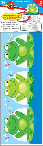 Adhesive Carson Self (Carson Dellosa Frog Good Work Holder Good Work Holders (119008))