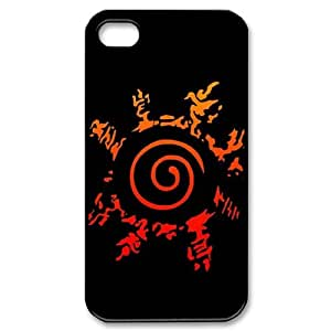 Naruto Awesome Cartoon Custom Hard Plastic DIY Back Case Cover for iPhone 4 4s