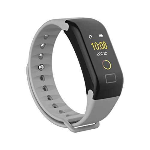 Price comparison product image Fitness Tracker, Boofab F1 Color screen Smart Watch Activity Tracker Heart Rate Monitor Sleep Tracker Pedometer Calorie Counter Sports Watch Bracelet Wristband for Men Women Kids (C)