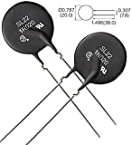 Ametherm SL22 1R020-B (Pack of 2) NTC THERMISTOR,ICL 1 OHM 20% 20A 22MM, (ALSO SG100, SG301)