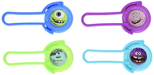 (Amscan Mons Terrific Disney Monsters University Disc Shooter Birthday Toy and Prize Giveaway (Pack Of 12), Multicolor, 4 1/8