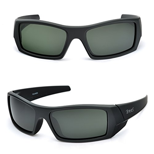 8. BNSU Unisex Ranger-Rectangular Sport's Sunglasses
