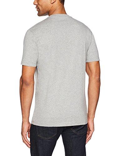 Goodthreads Men's Short-Sleeve V-Neck Cotton T-Shirt, Heather Grey, X-Large by Goodthreads (Image #4)'