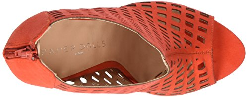 Sandals Women's Toe Paper Open Red Dolls Rani Red 4ExxqFXIw