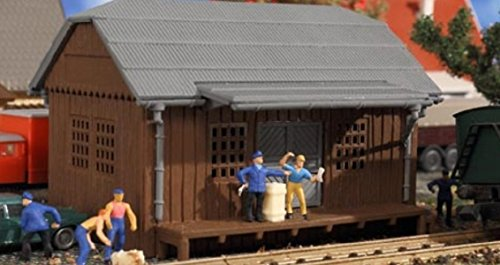 Vollmer 47575 HO Freight Shed Kit