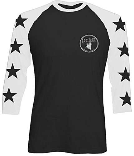 5sos t-shirts - 5sos shirts - five seconds of summer long sleeve jersey top for girls