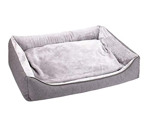 Doggy Dreams Dog Sofa L 80 x 62 cm Grey